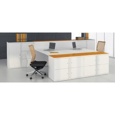 Freedom H:D Swan Neck Filing Cupboards (1000 mm wide / 687 mm high)