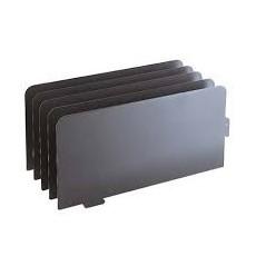 Slotted drawer divider + shelf brackets (5 pack)