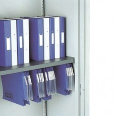 M:Line Cupboard (1000 mm wide) - Plain shelf with suspended filing