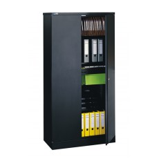 Executive Flat Pack 2 Door Cupboard with 3 Shelves