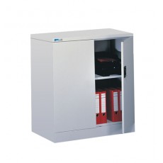 Kontrax 2 Door Flat Pack Cupboard with 1 Shelf