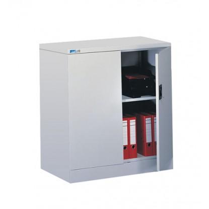 Kontrax 2 Door Flat Pack Cupboard with 1 Shelf