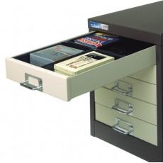 Multidrawer - 4 Compartment Plastic Tray
