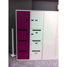 Freedom H:D Pillar Box - Personal Lockers (1000 mm wide / 712 mm high)